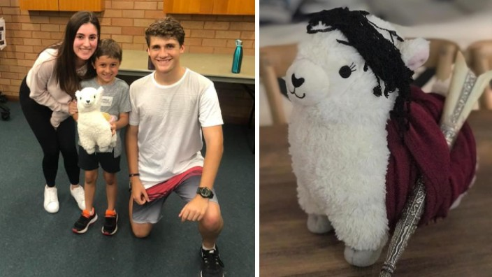 Kosta the Kri-Kri: The Cretan goat putting smiles on the faces of young kids in Sydney
