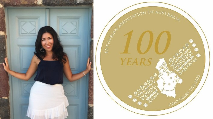 Zoe Sophios designs the official medallion for the Kytherian Association of Australia's centenary