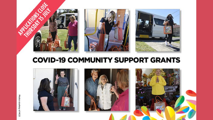 Applications for the NSW Government's COVID-19 Community Support Grants close tomorrow
