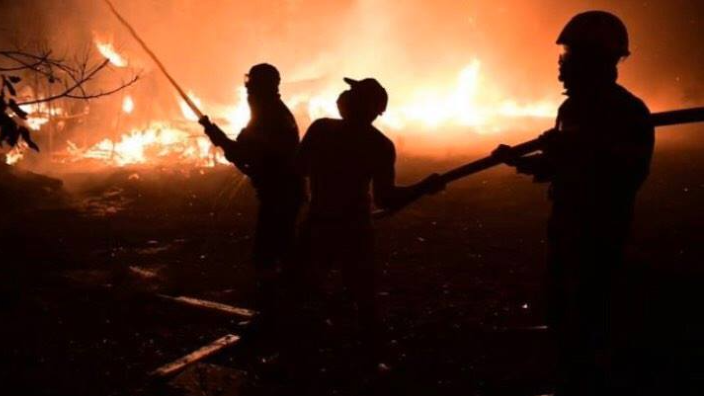 Melbourne's Greek community come together to help those fighting the fires in Greece