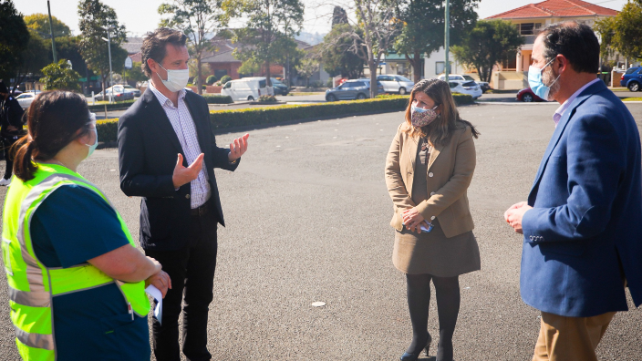 Sophie Cotsis among MPs who spearheaded pop-up vaccination hub at Campsie hotspot