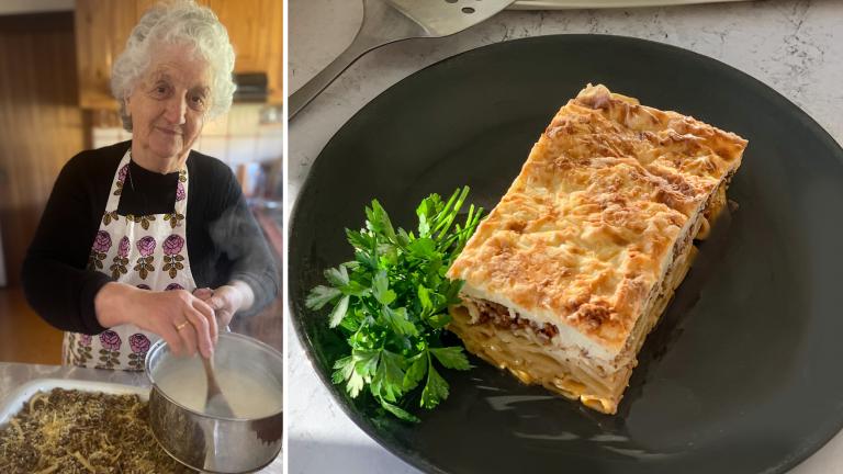 Yiayia Rose's Greek Pastitsio Recipe