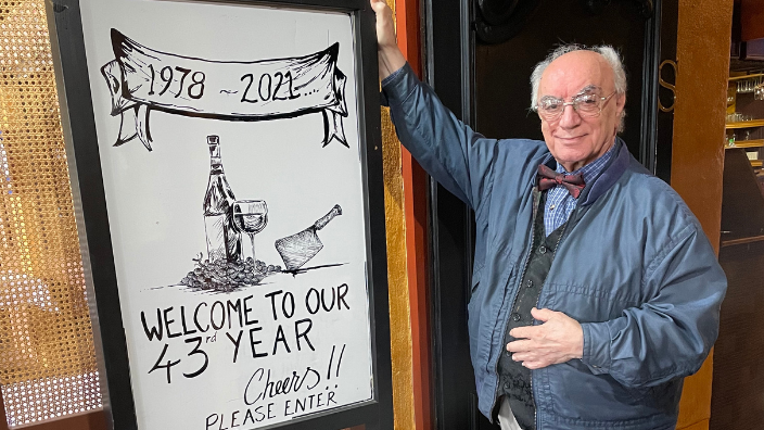 Adelaide restaurateur Stratos Pouras celebrates 43 years of family business success