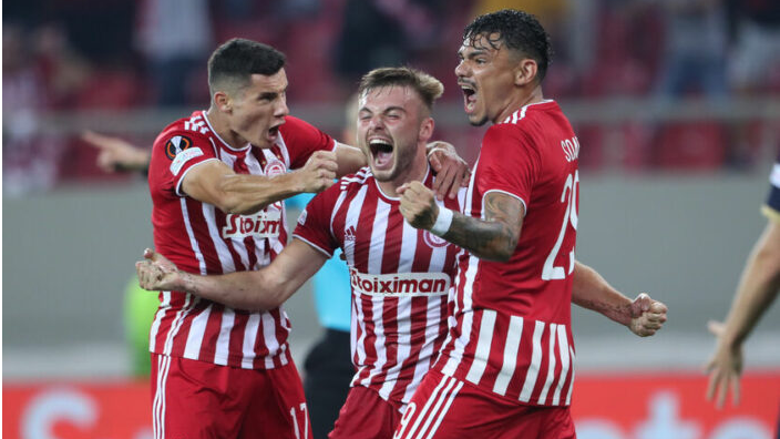 Greece climbs to 19th position of UEFA rankings thanks to wins by Olympiacos and PAOK