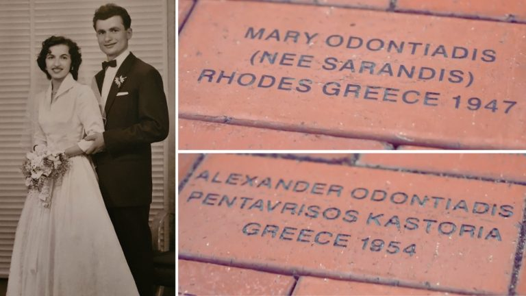 Mary and Alex Odontiadis: The story behind two names set in stone in SA's Migration Museum