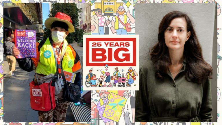 'Kindness goes a long way': Greek and Cypriot voices behind The Big Issue's 25th anniversary