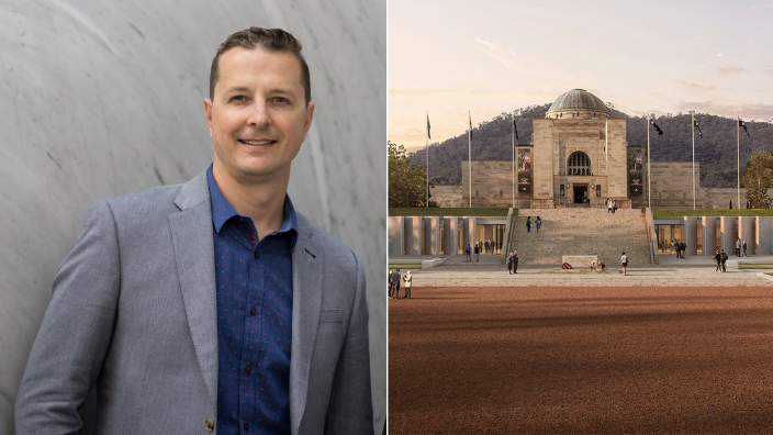 Nicholas Bandounas: Meet the architect designing the new Australian War Memorial entrance