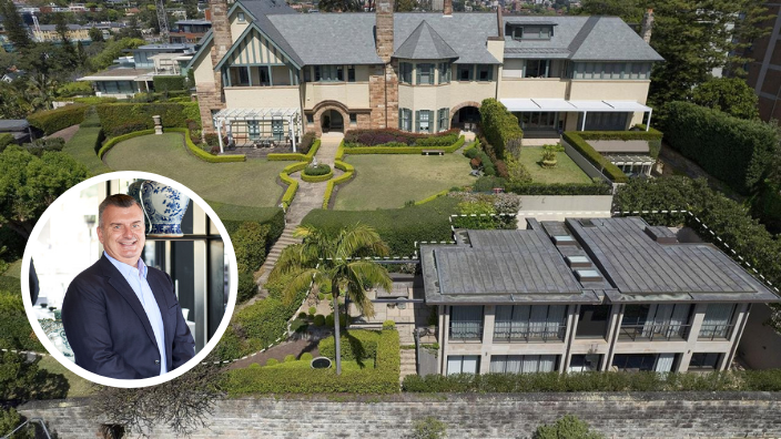 China Doll owner, Steve Anastasiou, and his wife sell Point Piper home for $10 million