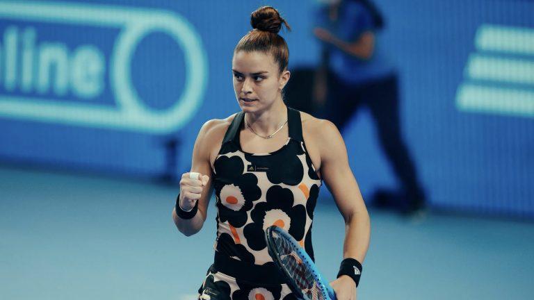 Maria Sakkari becomes first Greek woman to advance to WTA finals
