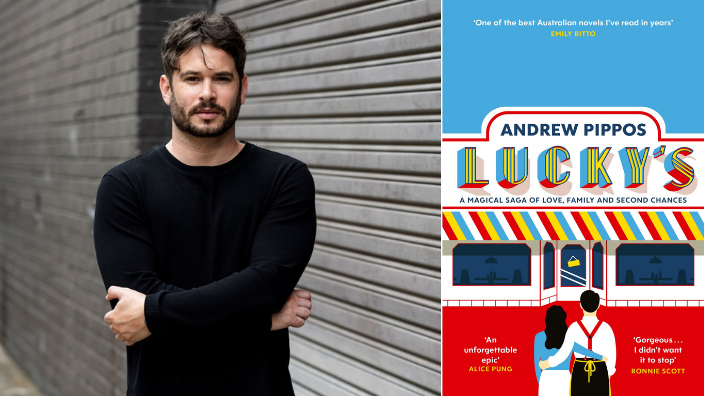 Andrew Pippos' Lucky's shortlisted in PM's Literary Awards