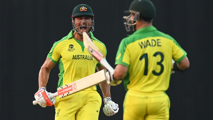 'As Greek Australian, hard to keep cool': Stoinis leads Aussies home in World Cup opener