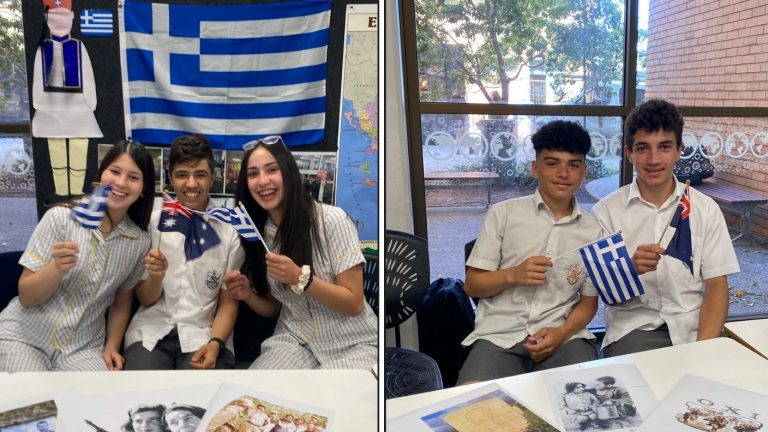 What does 'OXI Day' mean to you? Adelaide High Greek Class students respond